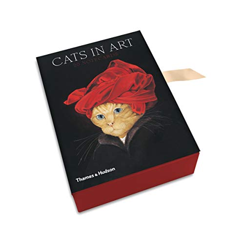 9780500420270: Cats in Art: 20 Notecards