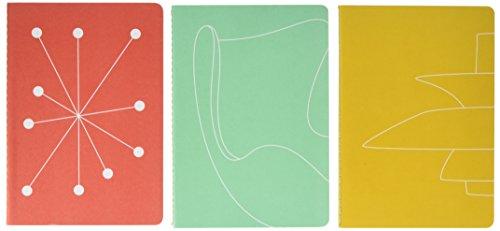 9780500420386: Mid-Century Modern: Notebooks: Set of 3 (Thames & Hudson Gift)