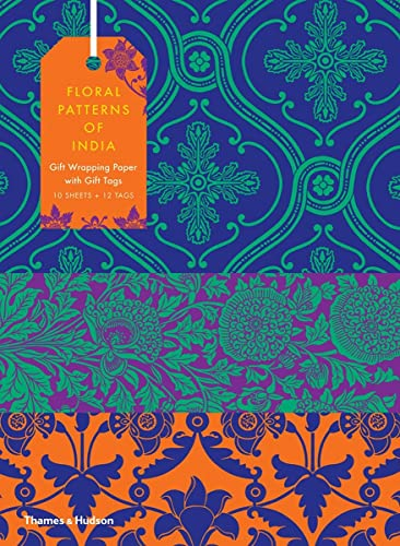 9780500420867: Floral Patterns of India: 10 Sheets of Wrapping Paper with 12 Gift Tags