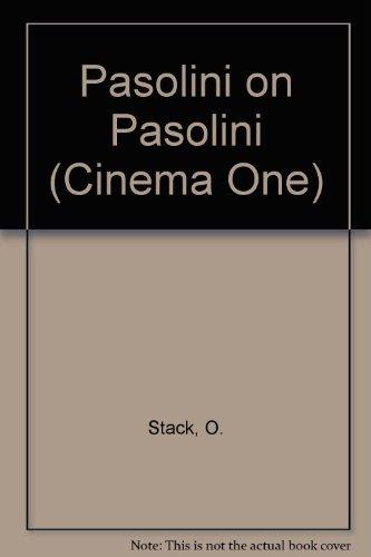 9780500470114: Pasolini on Pasolini (Cinema One)