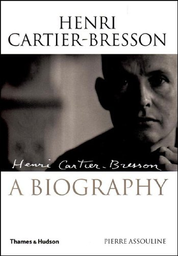 Henri Cartier-Bresson: The Biography 9780500512234 The first full biography ever published on this complex, curious, brilliant man. The twentieth century was the century of the image and Henri Cartier-Bresson (1908-2004) was the eye of the century. Through the decades, this eye focused on Africa in the 1920s, the tragic fate of the Spanish Republicans, and the victory of the Chinese Communists. It was Cartier-Bresson who fixed in our minds the features of his contemporaries: Giacometti and Sartre as characters from their own works; Mauriac mysteriously levitating; Faulkner, Matisse, Camus, and countless others captured at the decisive moment in portraits for eternity. An intensely private individual, Cartier-Bresson confided in his close friend Pierre Assouline over a number of years, even opening up his archives to him. Here, for the first time, we read about his youthful devotion to surrealism; his unending passion for drawing; the war and the prison camps; the friends and the women in his life. Assouline provides an acute and perceptive account of the life and philosophy of this icon of our times, and gives us an opportunity to reassess his contribution to twentieth-century photography and reportage. 23 illustrations.