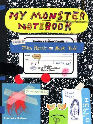 9780500515709: My Monster Notebook. John Harris and Mark Todd