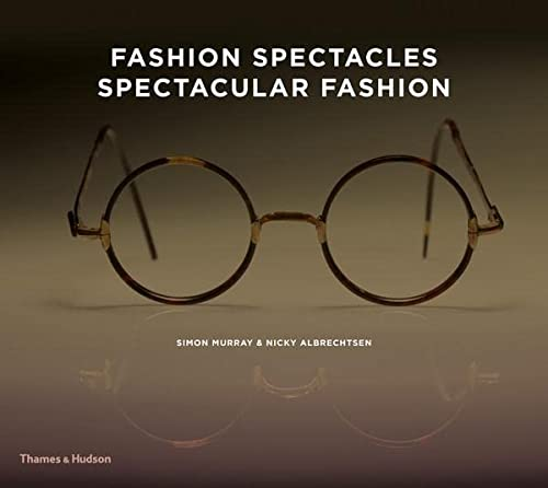 "Fashion Spectacles Spectacular Fashion 9780500516355 An irresistible sourcebook featuring vintage glasses of all shapes, styles, and sizes―the very best of spectacle design The twentieth century marked a turning point in eyewear design, fueled by a rapidly changing social and cultural landscape, new manufacturing techniques, the development of innovative materials, and the entertainment industry. Spectacles, which had previously been classed as purely functional, were transformed into an ultra-chic fashion accessory. This engaging book is based on Simon Murray's amazing collection, built up over decades of avid collecting. An introduction explores the history of glasses and reveals how premodern features and materials remain a rich source of inspiration in contemporary design, from Andre Courreges's ""Lunettes Eskimo,"" a twentieth-century take on Inuit goggles, to Gucci's ""Leather Aviators."" Examples of pre-twentieth-century glasses and contextual shots of film and style icons sporting spectacles illustrate not only the finest inventions and innovations of the past but also their evolution into the diverse, eclectic range of styles available today. Illustrated with specially commissioned photographs by Drew Gardner, this indispensable guide to eyewear will appeal to fashion designers, stylists, costume designers, and lovers of vintage. 274 illustrations, 261 in color"