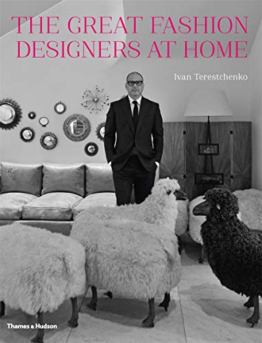 9780500517130: The Great Fashion Designers at Home /Anglais