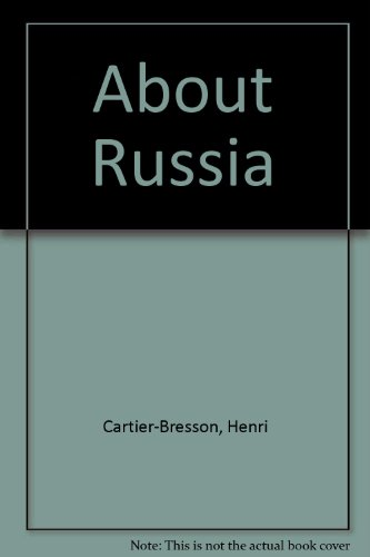 9780500540190: About Russia: Photographs