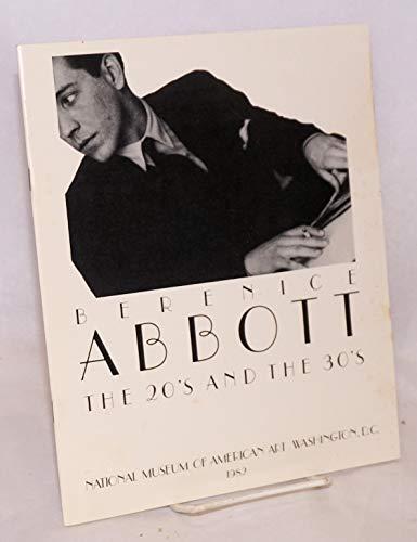 9780500540862: Berenice Abbott: Sixty Years of Photography