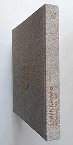André Kertész : Of Paris and New York . ; Weston J. Naef.: Phillips, Sandra S., ...