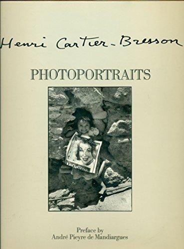Henri Cartier-Bresson: Photoportraits: Cartier-Bresson, Henri; Clair, Jean
