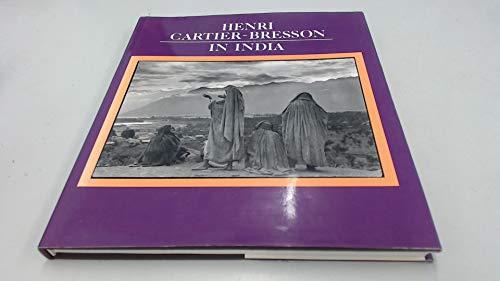 9780500541241: Henri Cartier-Bresson in India