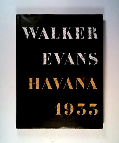 9780500541579: Walker Evans: Havana, 1933