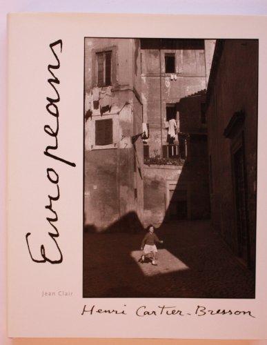 9780500542163: Henri Cartier-Bresson: Europeans.