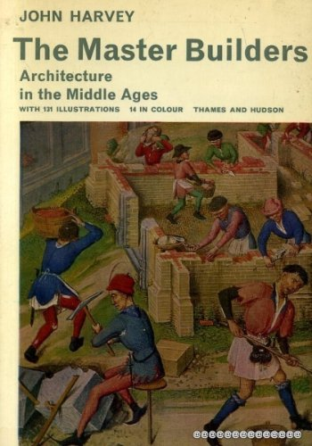 9780500570050: Master Builders: Architecture in the Middle Ages (Library of Mediaeval Civilization)