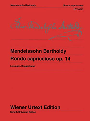 9780500572191: MENDELSSOHN - Rondo Caprichoso Op.14 para Piano (Urtext) (Leisinger/Roggenkamp)