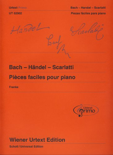 9780500573594: Coleccion - Urtext Primo Vol.1: Piezas Faciles de Bach,Haendel,Scarlatti para Piano (Urtext) (Franke)