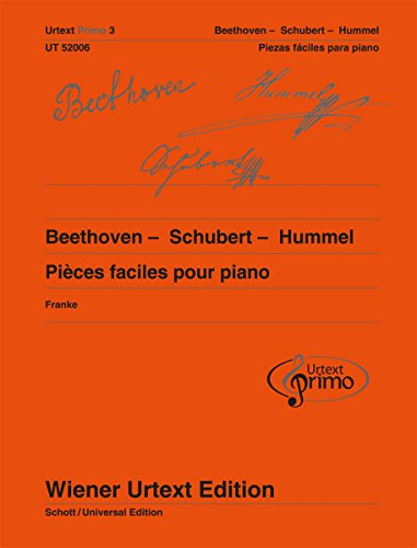 9780500573747: Partitions classique WIENER URTEXT EDITION BEETHOVEN, SCHUBERT, HUMMEL - EASY PIANO PIECES Piano