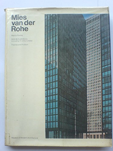 9780500580035: Mies Van Der Rohe (Masters of Modern Architecture)