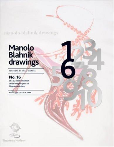 9780500600269: Manolo Blahník Drawings (60th Anniversary Edition)