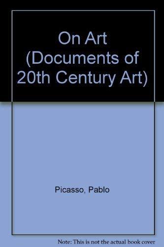 9780500610084: On Art (Documents of 20th Century Art)