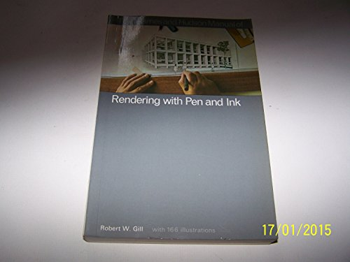 9780500680032: Manual of Rendering with Pen and Ink (The Thames and Hudson manuals)