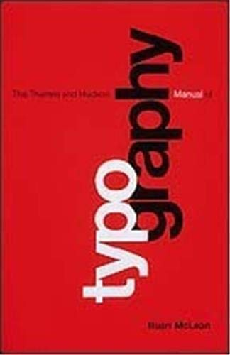 9780500680223: Typography (Paperback) (The Thames & Hudson Manuals)