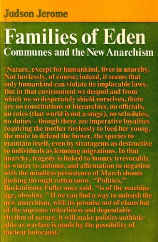 9780500920022: Families of Eden: Communes and the New Anarchism