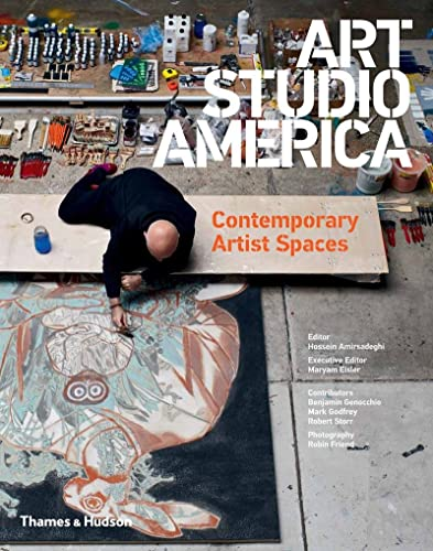 9780500970539: Art Studio America: Contemporary Artist Spaces