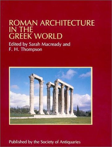 9780500990476: Roman Architecture in the Greek World