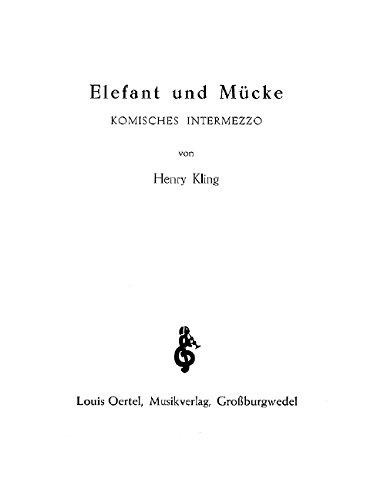 9780501800279: Elephant and Midge op. 520 (Funny Intermezzo)
