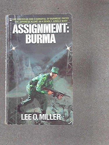 9780505514981: Assignment : Burma