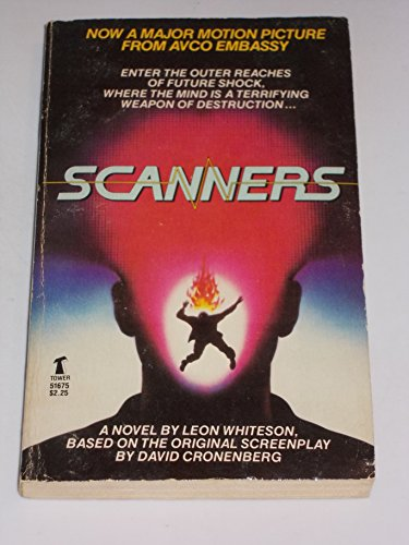 Scanners: A Novel 9780505516756 Vintage paperback
