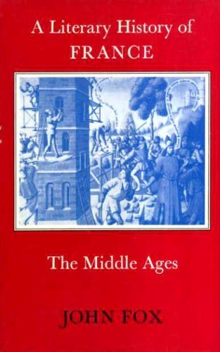 9780510322014: A Literary History of France: The Middle Ages