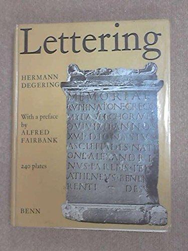 9780510417017: Lettering