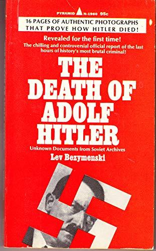 9780511019609: The Death of Adolf Hitler