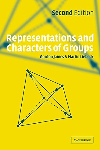 9780511029943: Representations and Characters of Groups