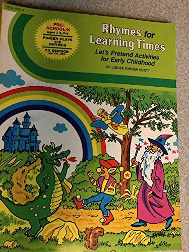 Rhymes for Learning Times [Jun 01, 1982]: Scott, Louise Binder
