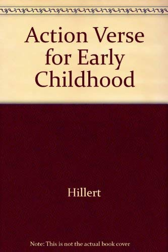 9780513173217: Action Verse for Early Childhood