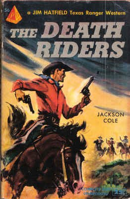 9780515000566: The Death Riders (Jim Hatfield Westerns)