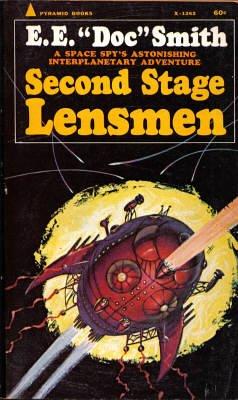 Lensman #5 - Second Stage Lensmen (Science Fiction Novels (Pyramid Books)): E.E. Smith