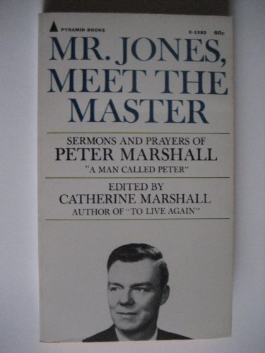 Mr Jones Meet the Master: PETER MARSHALL