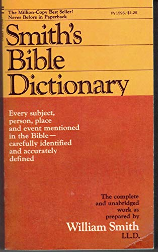 9780515015959: Smith's Bible Dictionary