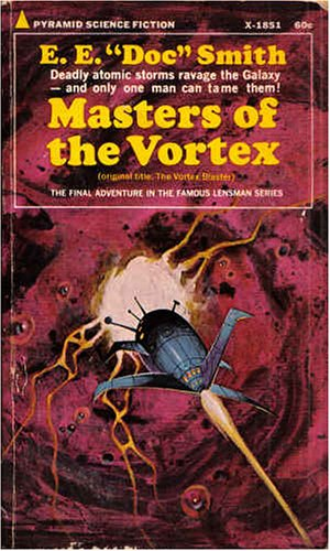 9780515018516: Masters of the Vortex (Pyramid SF, X-1851)