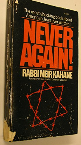 9780515027457: NEVER AGAIN : A PROGRAM FOR SURVIVAL
