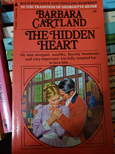 9780515028447: Hidden Heart (Pyramid Cartland, No. 10)
