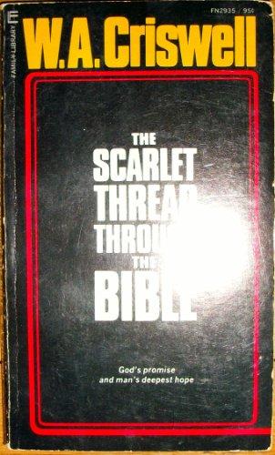 9780515029352: The Scarlet Thread Through the Bible