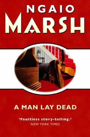 9780515029864: A MAN LAY DEAD
