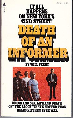 9780515031331: Death of an informer
