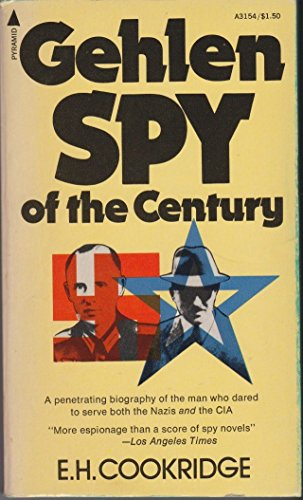 9780515031546: Gehlen: Spy of the century