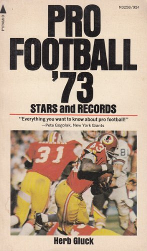 9780515032581: Pro football '73 stars and records