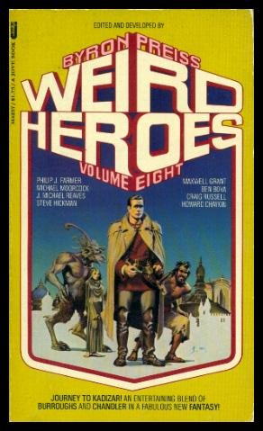 Weird Heroes, Vol. 8 (9780515042573) by Byron Preiss