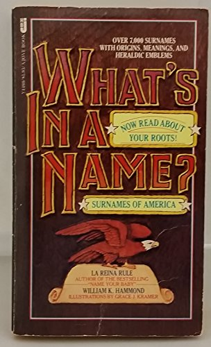 What's in a Name? Surnames of America: Rule, La Reina;